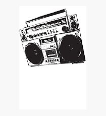 Classic Boom Box Photographic Print