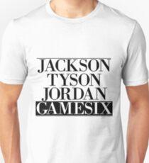 Jackson Tyson Jordan Gamesix - Jay-z Bars Unisex T-Shirt