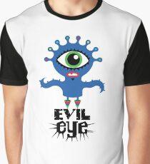 Evil Eye - on lights  Graphic T-Shirt