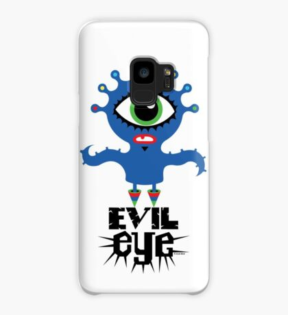 Evil Eye - on lights  Case/Skin for Samsung Galaxy