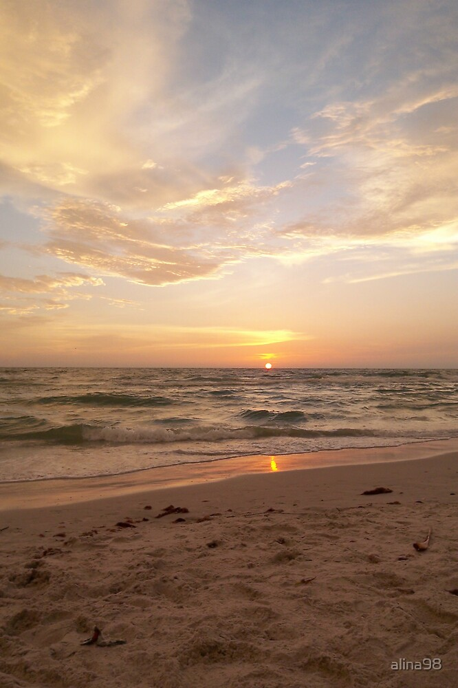 Gulf of Mexico Sunset by alina98