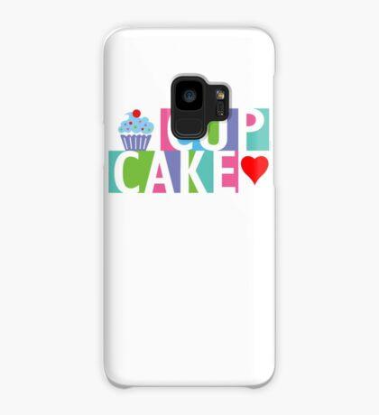 Cupcake love pink 4 Case/Skin for Samsung Galaxy
