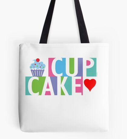 Cupcake love pink 4 Tote Bag