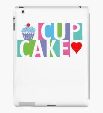 Cupcake love pink 4 iPad Case/Skin