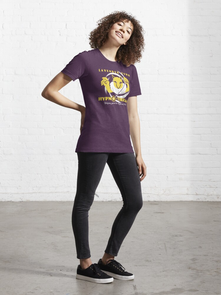 Alternate view of Lavender Town Hypno-Therapy Essential T-Shirt