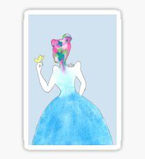 Beautiful Inside - Cinderella Sticker