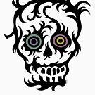 Skull Tattoo - on lights by Andi Bird