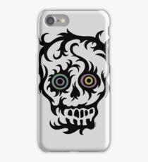 Skull Tattoo - on lights iPhone Case/Skin