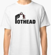 Pothead Coffee lovers T-shirt Classic T-Shirt