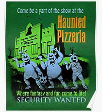 The Haunted Pizzeria Poster
