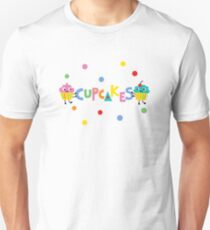 I love cupcakes banner Unisex T-Shirt