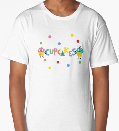 I love cupcakes banner Long T-Shirt