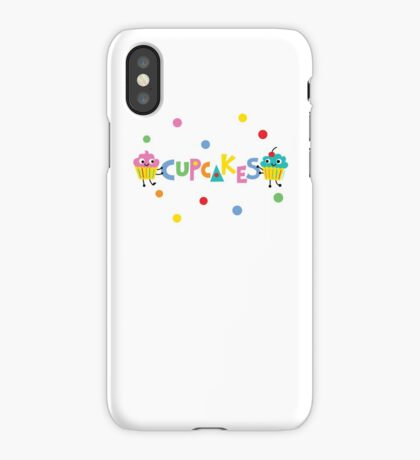 I love cupcakes banner iPhone Case
