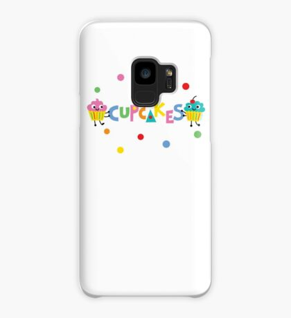 I love cupcakes banner Case/Skin for Samsung Galaxy