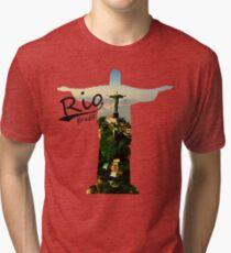 Rio-Brazil Tri-blend T-Shirt