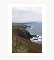 Dingle Coast Line- Ireland Art Print