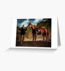 The Sopranos - Pie O My Painting  Greeting Card