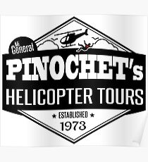 Pinochet's Helicopter Tours Poster