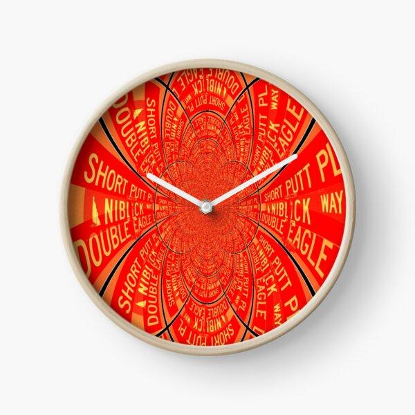 Short Putt - Niblick - Double Eagle Clock