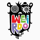 Big Weirdo - multi by Andi Bird