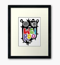 Big Weirdo - multi Framed Print