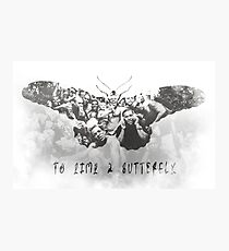 Flight of the Butterfly Photographic Print