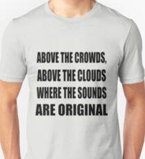 Above the Clouds - Gang Starr Lyrics Unisex T-Shirt