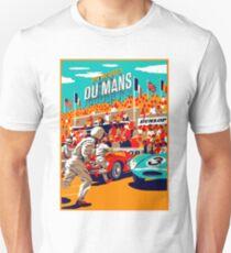 DU MANS: Grand Prix Vintage Auto Advertising Print Unisex T-Shirt
