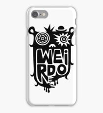 Big weirdo - on light colors iPhone Case/Skin