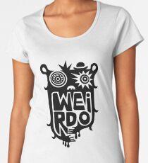 Big weirdo - on light colors Women's Premium T-Shirt