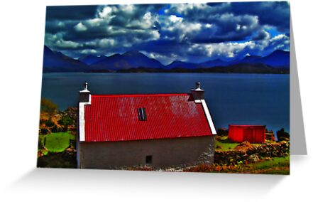 My Dream House,  Applecross Peninsula by Rois Bheinn Art and Design