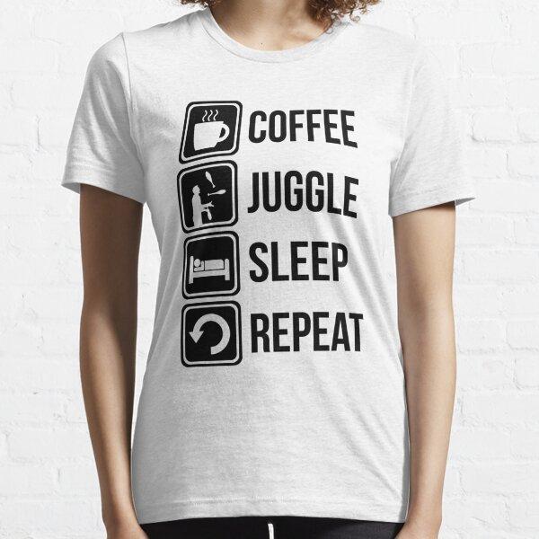 Coffee Juggle Sleep Repeat Essential T-Shirt