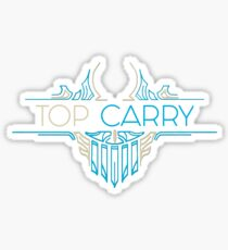 Top Carry - League of Legends LOL Penta Sticker