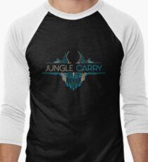 Camiseta ¾ bicolor para hombre Jungle Carry - League of Legends LOL Penta