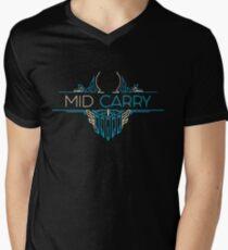Camiseta para hombre de cuello en v Mid Carry - League of Legends LOL Penta