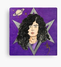 The Wizard- Jimmy Page Canvas Print