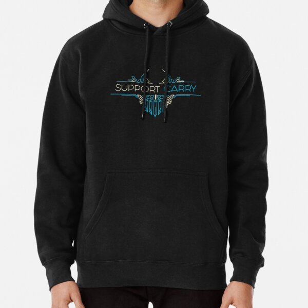 Support Carry - League of Legends LOL Penta Pullover Hoodie