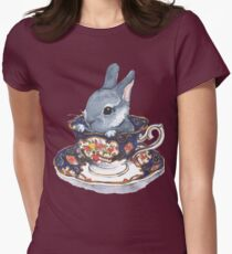 Heirloom Bunny Women's Fitted T-Shirt