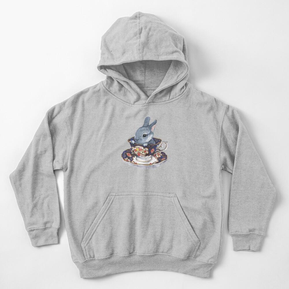 Heirloom Bunny Kids Pullover Hoodie