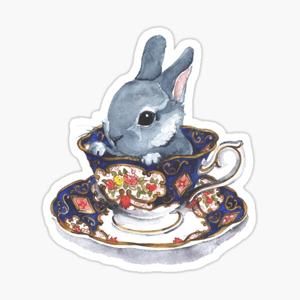 Heirloom Bunny Sticker