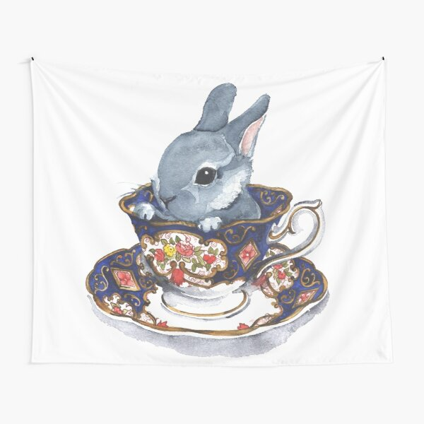Heirloom Bunny Tapestry