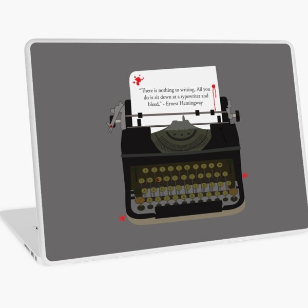 Nothing To Writing Laptop Skin