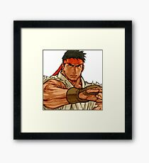 street fighter - ryu Framed Print