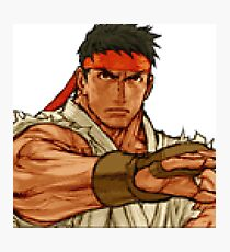street fighter - ryu Photographic Print
