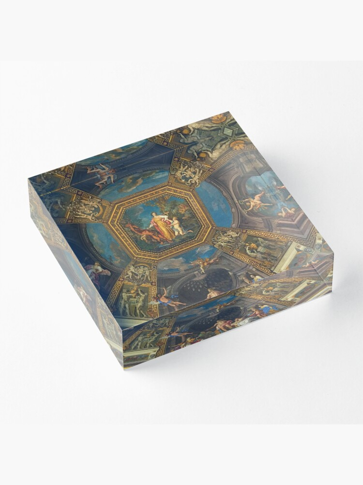Alternate view of The Vatican-Ceiling Mural Acrylic Block
