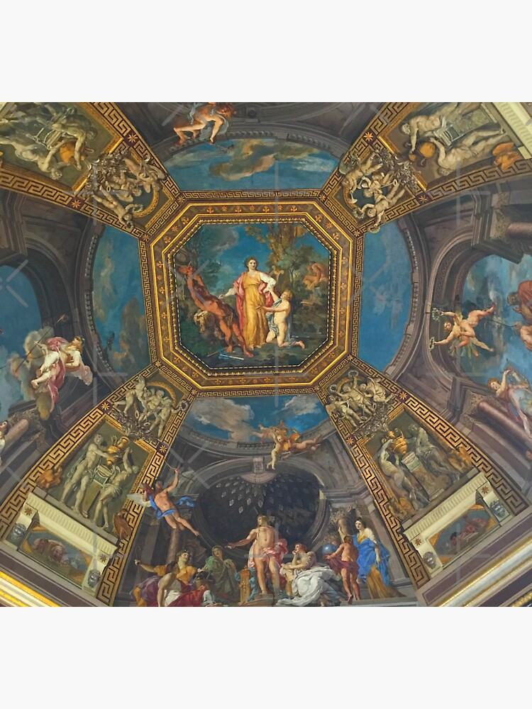 The Vatican-Ceiling Mural by Matlgirl