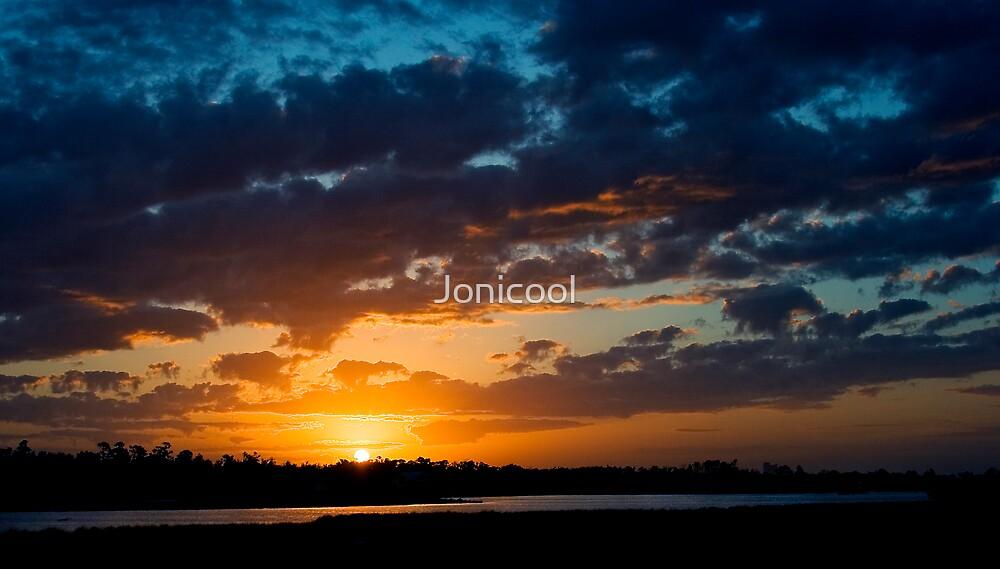 Sunset Over the Bayou by Jonicool