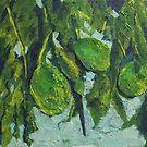 Avocado Jumble (Mixed Media) by Niki Hilsabeck