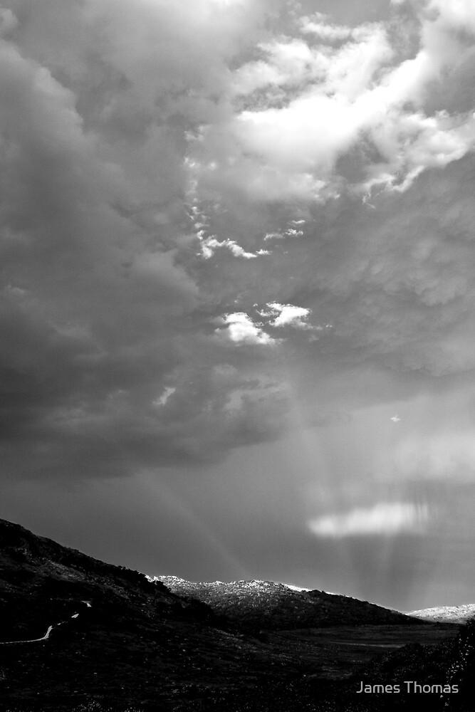 Illuminated Peak by James Thomas