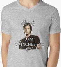 I'm a Sam Girl Men's V-Neck T-Shirt